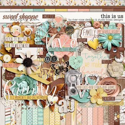 This Is Us Kit by River Rose & Studio Basic Designs