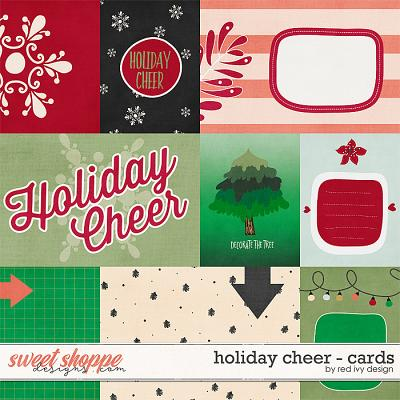 Holiday Cheer - Cards by Red Ivy Design