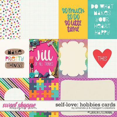 Self-Love: Hobbies Cards by Amanda Yi & Meagan's Creations