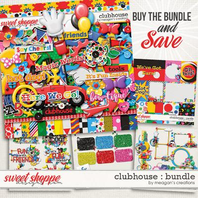 Clubhouse : Collection Bundle by Meagan's Creations
