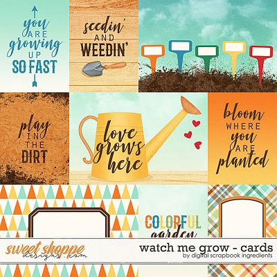 Watch Me Grow | Cards by Digital Scrapbook Ingredients