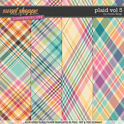 Plaid VOL 5 by Studio Flergs