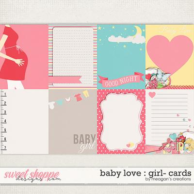 Baby Love {Girl} : Cards by Meagan's Creations