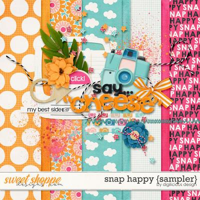 Snap Happy {Sampler} by Digilicious Design
