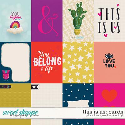This Is Us cards by Brook Magee & Amanda Yi