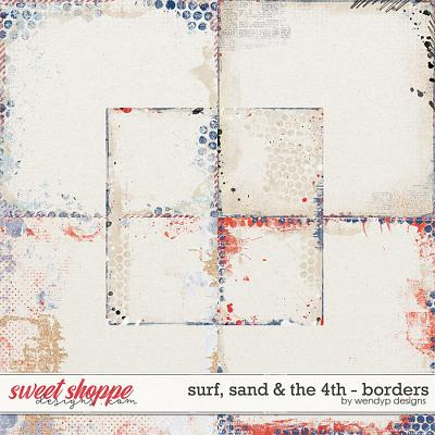 Surf, sand & the 4th - Borders by WendyP Designs