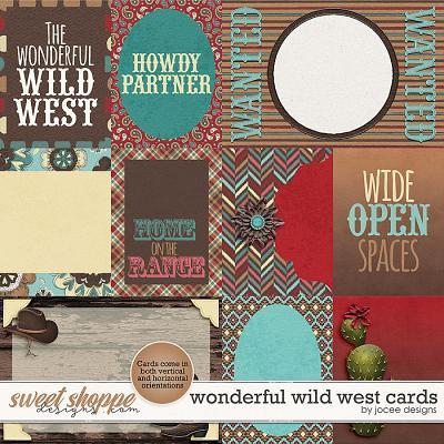 Wonderful Wild West Cards by JoCee Designs