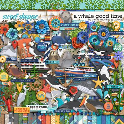 A Whale Good Time by Clever Monkey Graphics