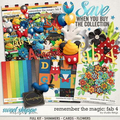 Remember the Magic: FAB 4- COLLECTION & *FWP* by Studio Flergs