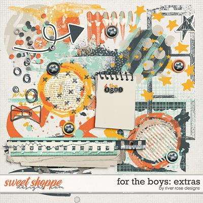 For the Boys: Extras by River Rose Designs