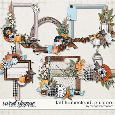 Fall Homestead: Clusters by Meagan's Creations