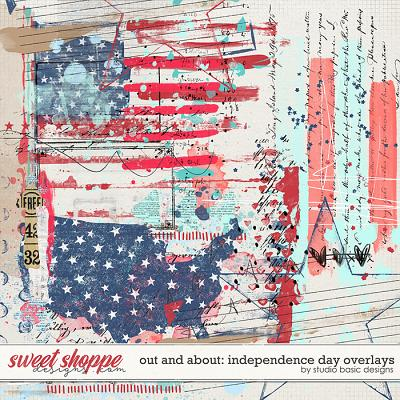 Out and About: Independence Day Overlays by Studio Basic Designs