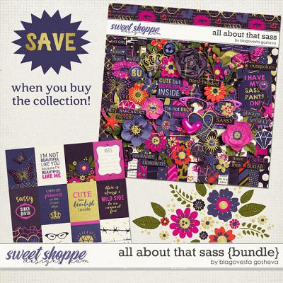 All About That Sass {Bundle} by Blagovesta Gosheva