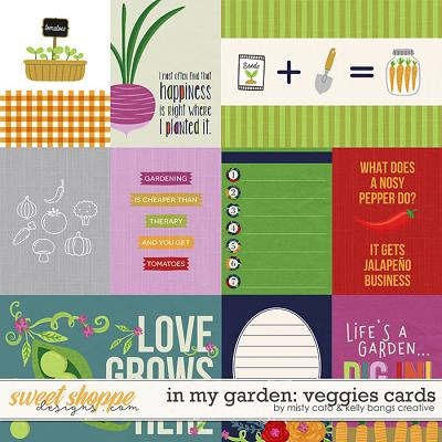 In My Garden: Veggies Cards by Misty Cato and Kelly Bangs Creative