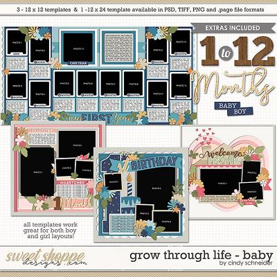 Cindy's Layered Templates - Grow Through Life: Baby by Cindy Schneider