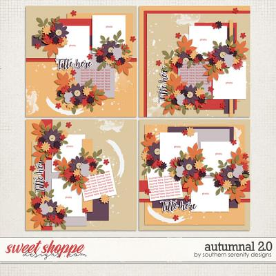 Autumnal 2.0 Layered Templates by Southern Serenity Designs