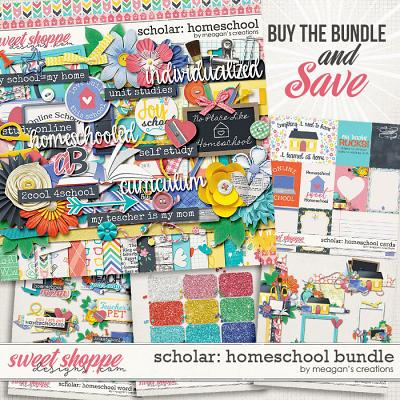 Scholar: Homeschool Collection Bundle by Meagan's Creations