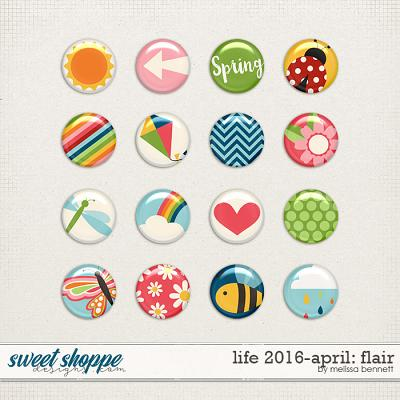 Life 2016-April: Flair by Melissa Bennett