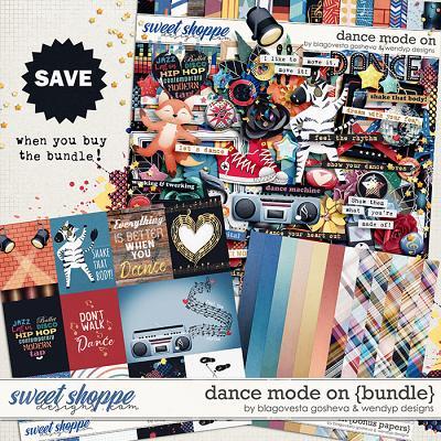 Dance mode on - Bundle by Blagovesta Gosheva & WendyP Designs