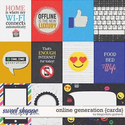 Online generation {cards} by Blagovesta Gosheva