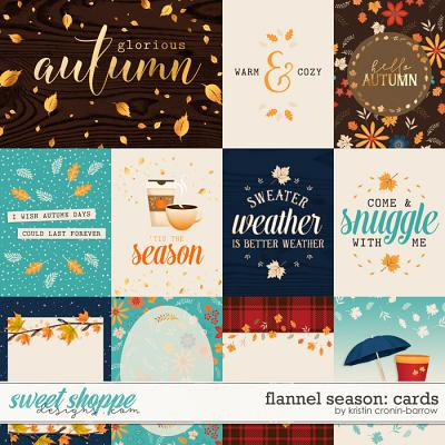 Flannel Season: Cards by Kristin Cronin-Barrow