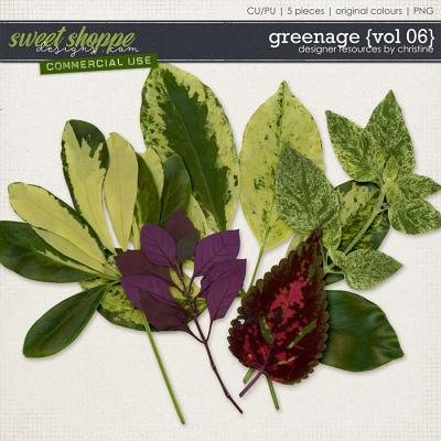 Greenage {Vol 06} by Christine Mortimer