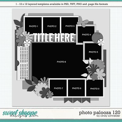 Cindy's Layered Templates - Photo Palooza 120 by Cindy Schneider