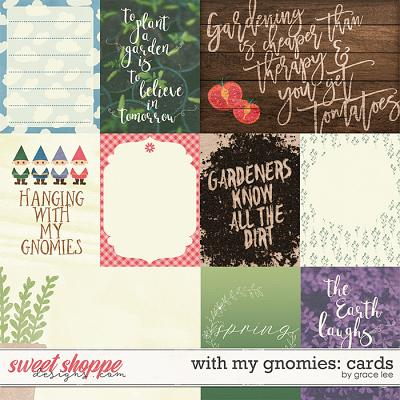 With My Gnomies: Cards by Grace Lee