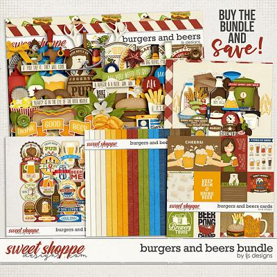Burgers and Beers Bundle by LJS Designs