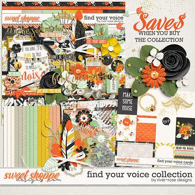 Find Your Voice Collection by River Rose Designs