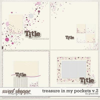 Treasures In My Pockets Templates Vol. 2 by Grace Lee