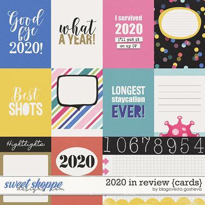 2020 in Review {cards} by Blagovesta Gosheva