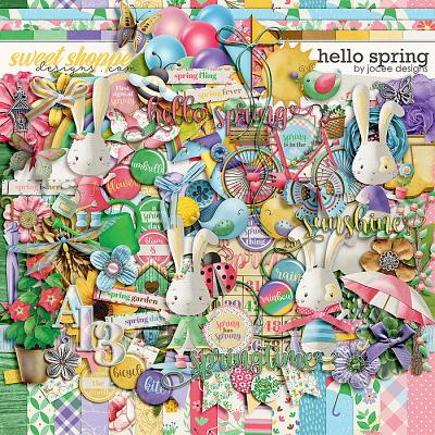 Hello Spring by JoCee Designs