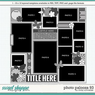 Cindy's Layered Templates - Photo Palooza 93 by Cindy Schneider