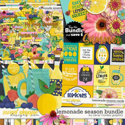 Lemonade Season Bundle by Clever Monkey Graphics