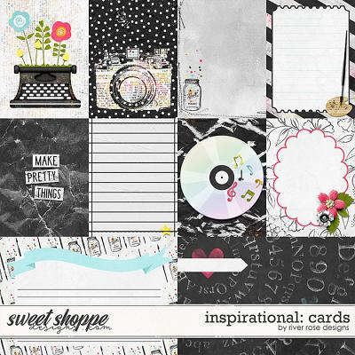 Inspirational: Cards by River Rose Designs