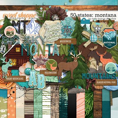 50 States: Montana by Kelly Bangs Creative