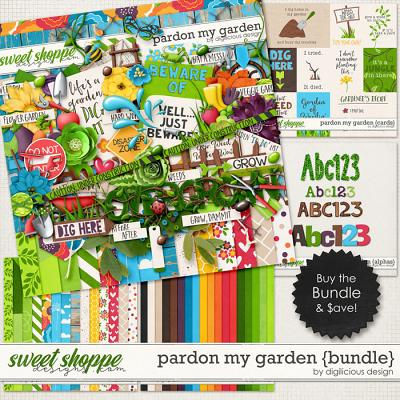 Pardon My Garden {Bundle} by Digilicious Design