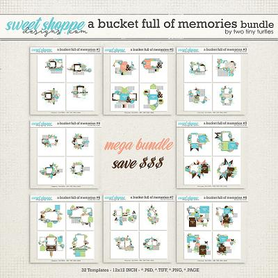 A Bucket Full Of Memories Bundle by Two Tiny Turtles