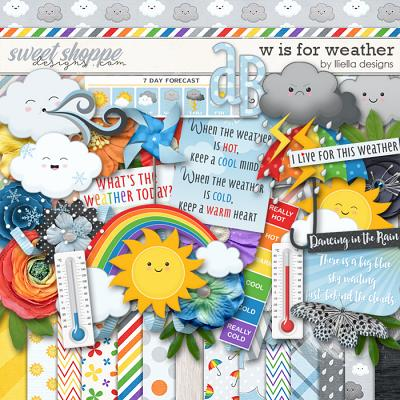 W is for Weather by lliella designs