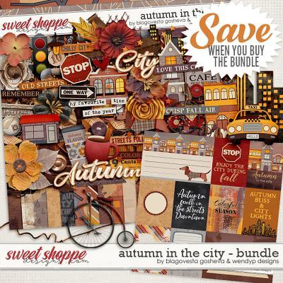 Autumn in the city {bundle} by Blagovesta Gosheva & WendyP Designs