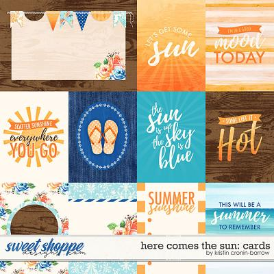 Here Comes The Sun: Cards by Kristin Cronin-Barrow