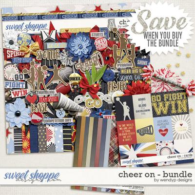 Cheer on - bundle by WendyP Designs