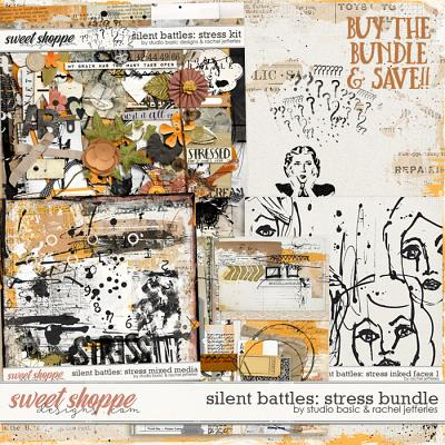 Silent Battles: Stress - Bundle by Studio Basic Designs & Rachel Jefferies