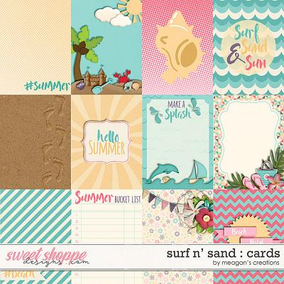 Surf N' Sand : Cards by Meagan's Creations