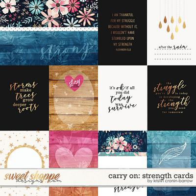 Carry On: Strength Cards by Kristin Cronin-Barrow