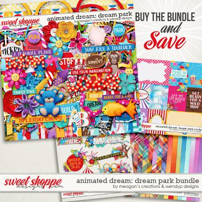 Animated dream: dream park - bundle by Meagan's Creations & WendyP Designs