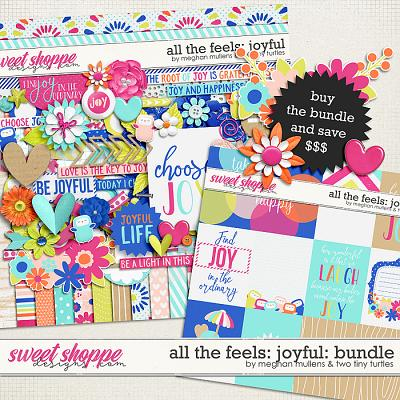 All The Feels: Joyful-Bundle by Two Tiny Turlles & Meghan Mullens