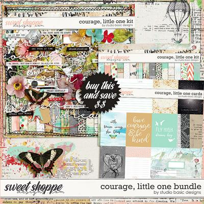 Courage, Little One Bundle by Studio Basic