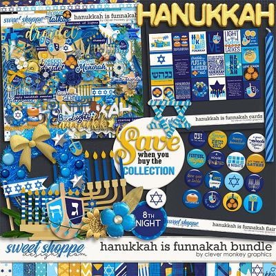 Hanukkah is Funnakah Bundle by Clever Monkey Graphics